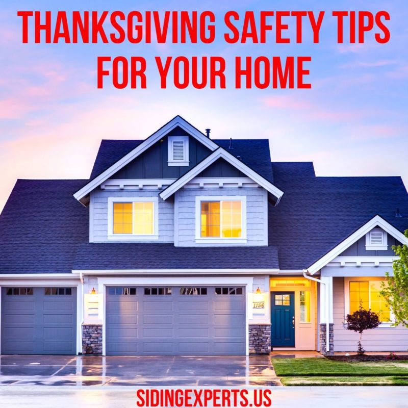 ThanksGiving Safety Tips For Your Home