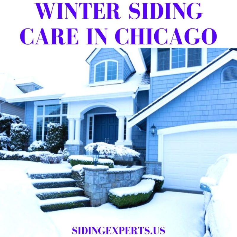 Winter Siding Care In Chicago