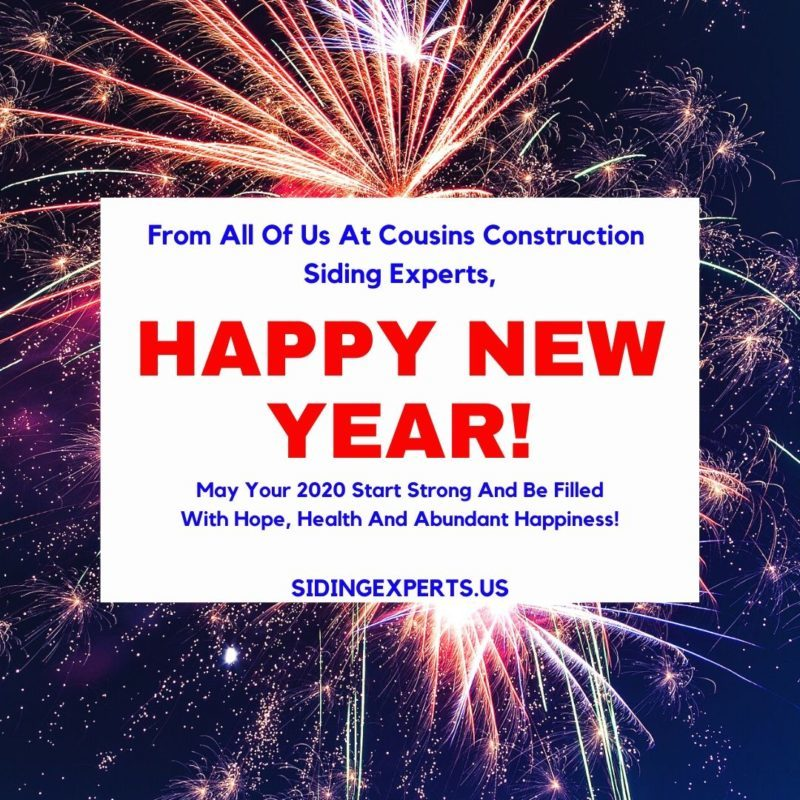 Happy New Year From Siding Experts