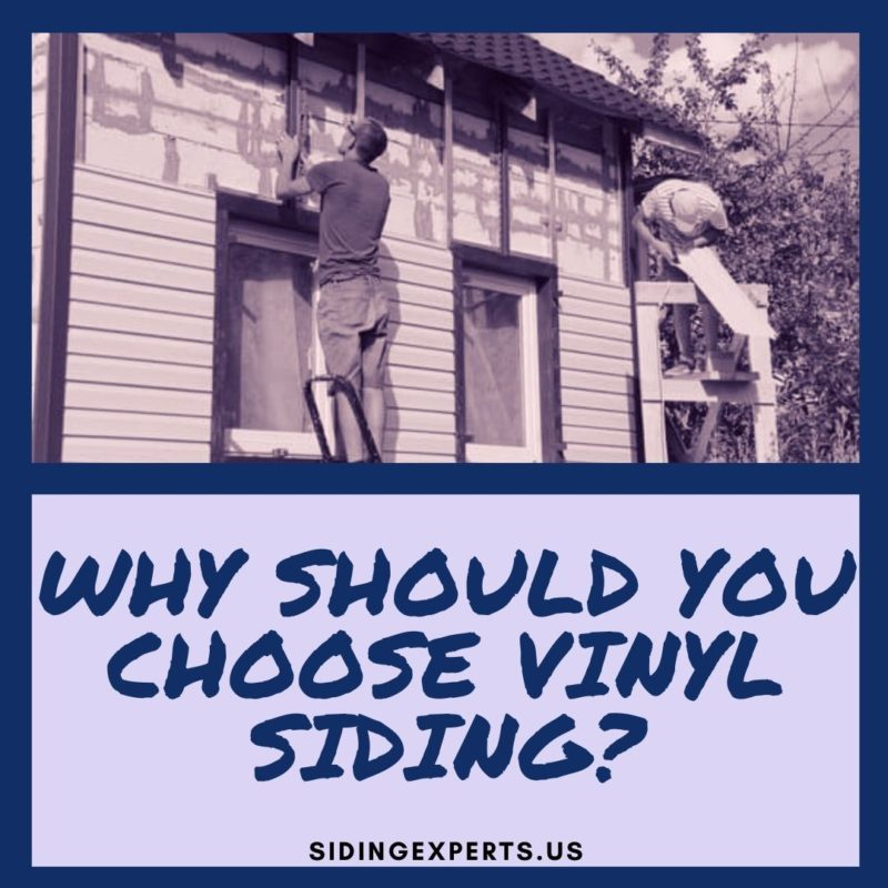 Why Should You Choose Vinyl Siding?