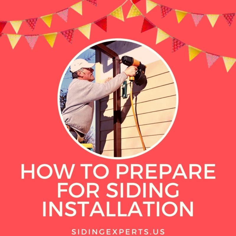 How To Prepare For Siding Installation