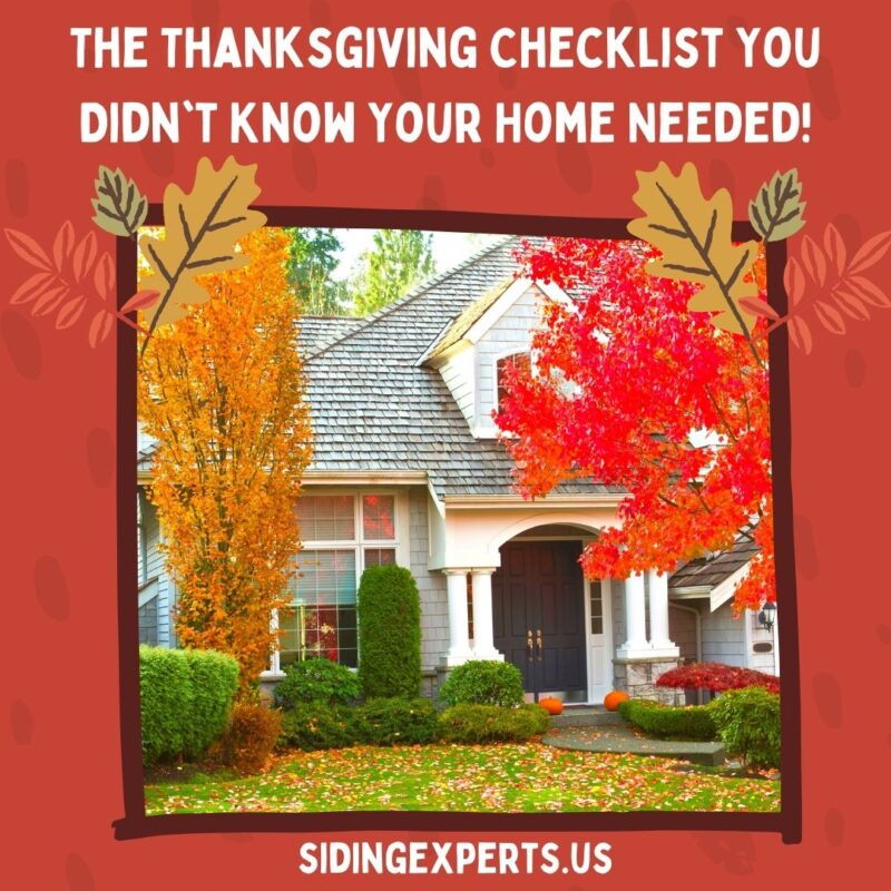 The Thanksgiving Checklist You Didnt Know Your Home Needed